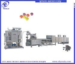 El depósito de línea de producción de caramelos