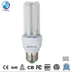 中国卸し売りCFL SKD製造業者は低価格2u DC 12Vの省エネの電球を分ける