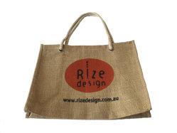 Le recyclage de l'acheteur de haute qualité de la promotion sac de jute marché avec le logo de l'impression