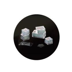 Hot la vente de médecine et d'usage en laboratoire de forme carrée lamelle de microscope