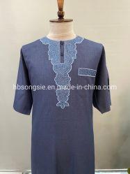 2021 Nieuw borduurwerk Design Marokko Robe Long Gown jurk Hijab Thobe Wholesale Moslim Islamitische Kleding Islamitische Kleding Broeken kostuums kleding Jurken Arabische Tobe