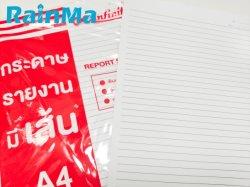 40 pagina's los Leaf Paper A4-formaat Writing Note Pad voor Groothandel in briefpapier