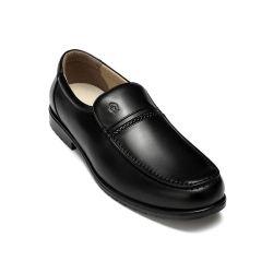 Os homens vestidos de negócio da fabricante de calçados PU Calçado em couro genuíno