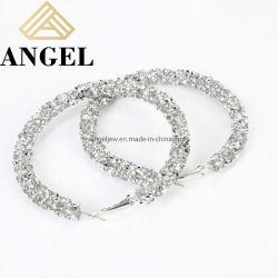 Последние украшения дамы моды 925 серебристые Earring элегантным образом красочный слой клея серьги