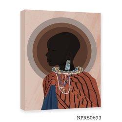 African Wall decor Poster Canvas Prints Pittura ad olio fatta a mano
