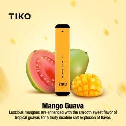 Tiko S19 الألومنيوم مسطح قلم القرد أتوميوم يمكن التخلص منه بواسطة السجائر الإلكترونية بطارية 280 مللي أمبير/ساعة