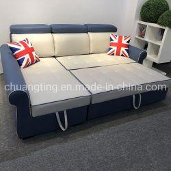 보관 코너 소파 세트 풀아웃 기능 소파 룸 침대