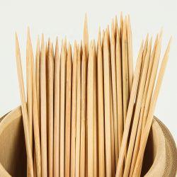 Дешевые китайские 6мм шашлык из бамбука Stick/выбирает/шпажки узел