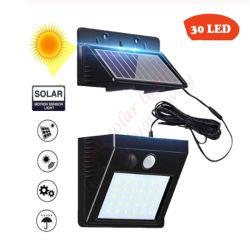 100 LED Luz Solar Panel Solar lámpara LED de división de la Calle de Pared Farol de jardín patio Linterna de emergencia de seguridad de las lámparas de cerco de cubierta