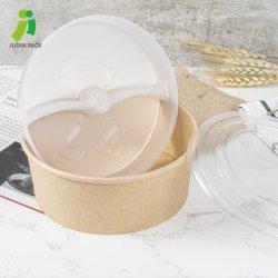 El tazón de sopa de fideos de postre Ensalada Bowl-Keep papel de los alimentos frescos y listos para comer