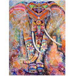 Животных 5D DIY Специальная сверлильная слон Diamond окраска вышивкой Жираф Diamond полного искусства настенной живописи