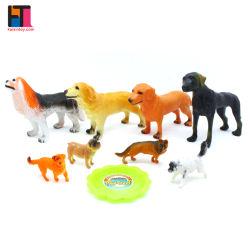 10326665人の子供の動物のおもちゃ一定の現実的なPVC犬図プラスチックトイドッグ