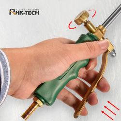 Industrielle Flüssiggas elektronische LPG Messing Schalter Heizung Weed Taschenlampe Mit Edelstahldüse