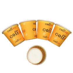 Impressão personalizada descartáveis 2.5Oz grossista de produtos de papel chávena de café