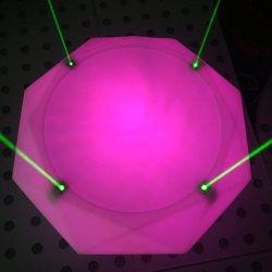 Discoteca Rigeba parte DJ mobiliário LED Laser oval de Dança palco de eventos