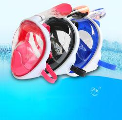 잠수 가면 굵은 활자 가면 굵은 활자 자유로운 호흡 디자인