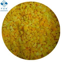 Sinocharm BRC a a approuvé un poivron jaune dés surgelés IQF