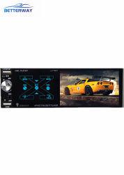 Betterway 1DIN de 4 pulgadas de pantalla táctil capacitiva de car audio reproductor de audio MP5 Estéreo Bluetooth Android Video con Smart Ai el Control de voz espejo RDS USB Dual Link