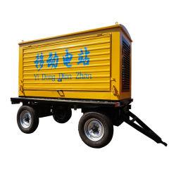 Gruppo elettrogeno diesel da 100 kw tipo rimorchio mobile