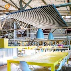 De MilieuBescherming van de Vezel van de Polyester van 100% en het Correcte Traliewerk van het Plafond van de Absorptie