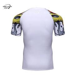 قمصان كودي لوندين للرجال مع طفح جلدي مطبوع مخصص ثلاثي الأبعاد قميص تاتو للرجال الحرس