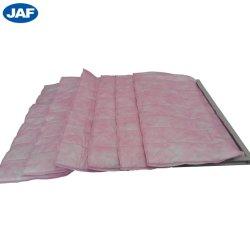 Tissus de polyester industriel Non-Woven moyennes Pocket sac du filtre à air