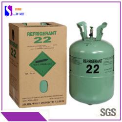 Melhor Condição de ar de gás de refrigeração puro e Refrigerante refrigerante R22 Freon Barato preço