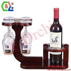 Бутылка вина для установки в стойку корпуса дисплея
