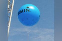 Настраиваемый логотип Большой надувной баллон гелия на размещение рекламы