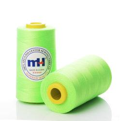 40/3 3000м вращается полиэстер резьба для шитья легкая ткань - Флуоресцентный зеленый