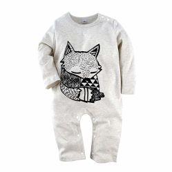 Nouveau-né Romper Toddler garçons combinaisons tricot chaud lapin Body suits à manchon long pour 6-24m
