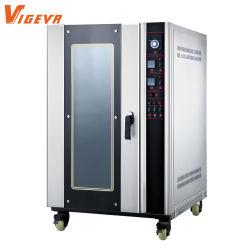 Cassetti elettrici del forno 8 di cottura di convezione del fornitore della strumentazione all'ingrosso dell'alimento