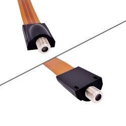 Окна/настенные плоские электрического кабеля в разъем F для мониторинга оборудования