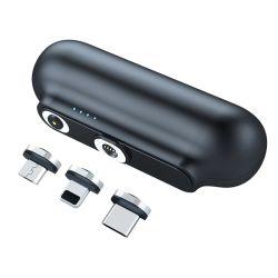 Commerce de gros de marque personnalisée 3 Dans 1 2600mAh Portable Mini de charge rapide de Consumer Electronics Banque d'alimentation sans fil magnétique