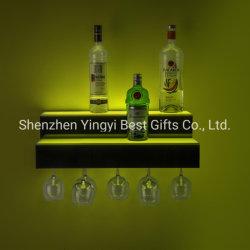 La pantalla de la cerveza de acrílico de alta calidad estanterías con LED