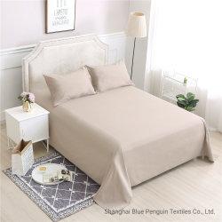 Home Textiles Hôtel solide tissu de coton naturel couleur ordinaire de la literie défini
