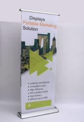 La publicité personnalisée de la promotion de la cassette numérique électrique du papier rouleau de support jusqu'bannière escamotable, Rouleau bannière, bannière de l'extracteur