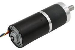 Micro electric DC 24V brushless motor de engrenagem