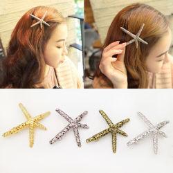 Accessoires de mode en différentes variantes de conception en alliage d'épingle à cheveux