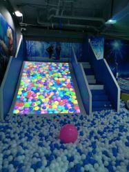 Parque de diversões para crianças o projetor interativo jogos interactivos Ar deslize