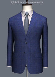 Wholesell gutes Quanlity Wolle-Gewebe oder Tr-Gewebe-formale Geschäftsleute `S Klage-Form-dünne Sitz-Kleidung