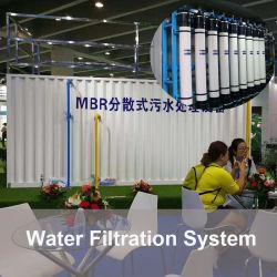 A fábrica de esgoto doméstico fresca potável Água pura de filtração de purificador de sistema RO dessalinização da água Água Fresca a contentorização água pura de equipamentos de tratamento