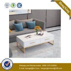 Arbolado simple mesa de comedor Patas de metal Muebles de comedor de diseño europeo (UL-9D198)