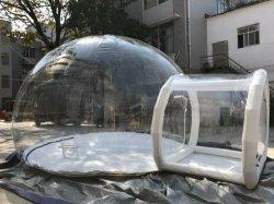 屋外の透過明確で膨脹可能な泡ドームのテント/膨脹可能な泡部屋