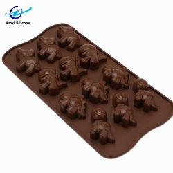 كعكة Silicone على شكل مخصص كعكة موولد الشوكولاته Bakewing Cake Mold