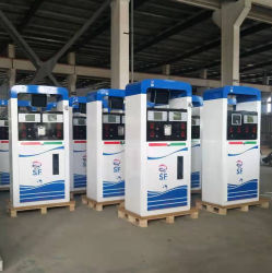 La fábrica de alta calidad de suministro de combustible Bomba de gasolina solo dispensador doble de la bomba de combustible para la estación de gasolina para la venta