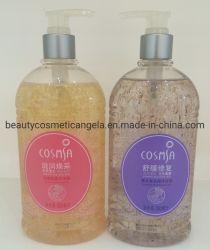 حوض استحمام وردي مع زيت أساسي لتزيين الجسم