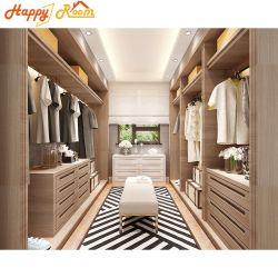 최신 디자인 알루미늄 목재 - 그레인 침실 주방 캐비닛 옷장 가구