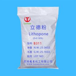 Торговая марка Loman Lithopone белый B311 пигмент покрытия и пластика