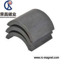 Y33 Segmento muestra gratuita de la forma de arco de cerámica fuerte imán de ferrita para motor
